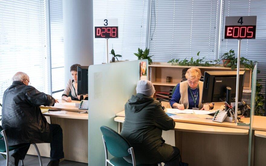 """""""Sodra"""", VMI ir Užimtumo tarnyba vėl atvers klientų aptarnavimo skyrius"""