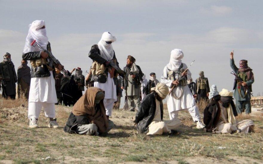 Rusija kviečia Talibaną į derybas dėl taikos Afganistane
