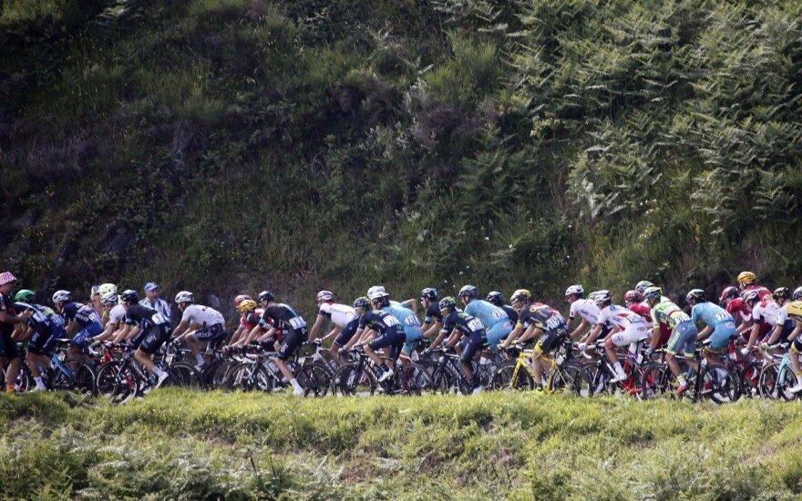"""Tour de France"" etape R. Navardauskas – 151-as"