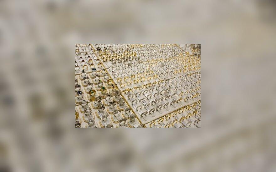 Vilniuje vagys žaibiškai pagrobė aukso už 120 tūkst. litų