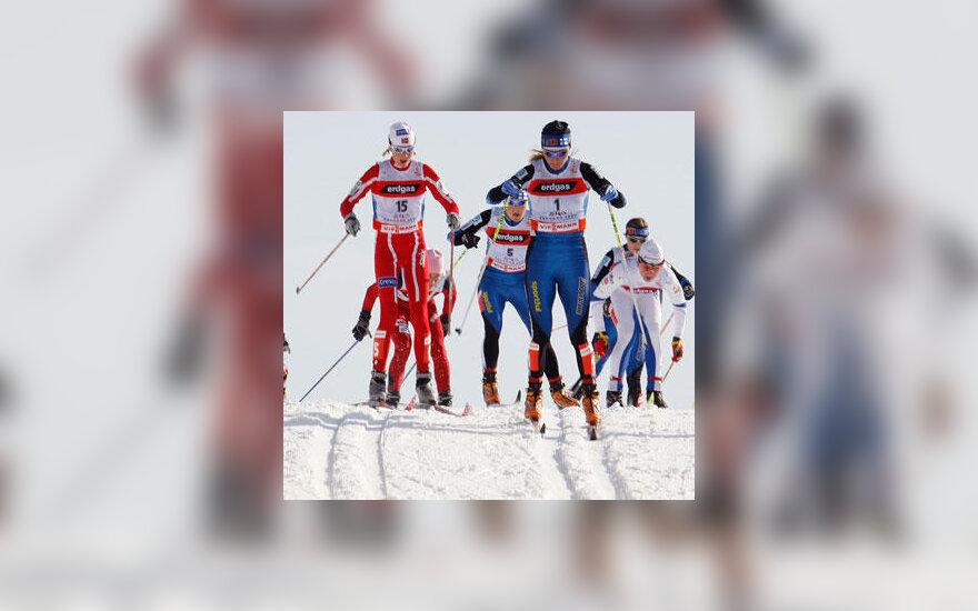 Moterų slidinėjimas