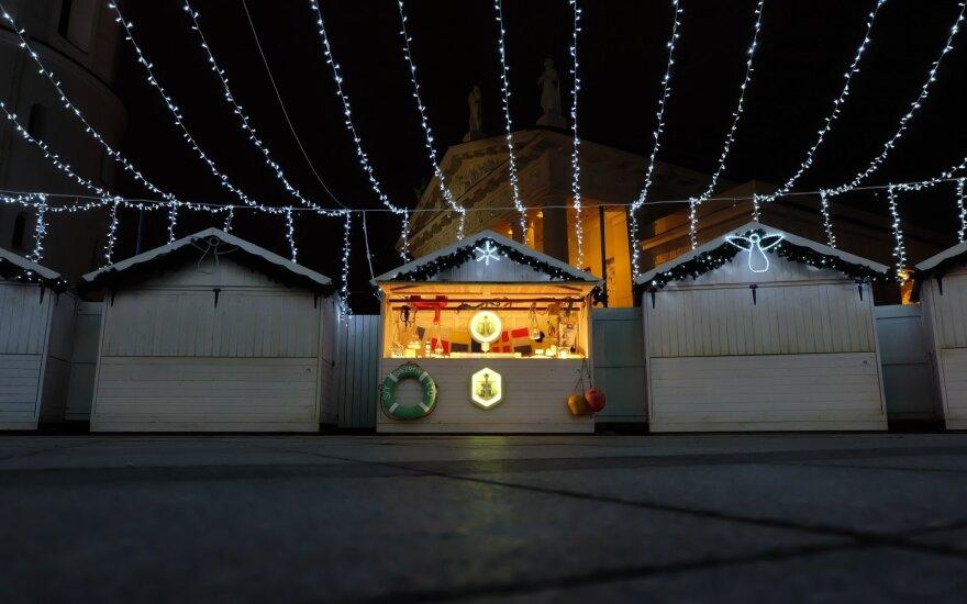 """""""Shkertik"""" namelis kalėdiniame miestelyje"""