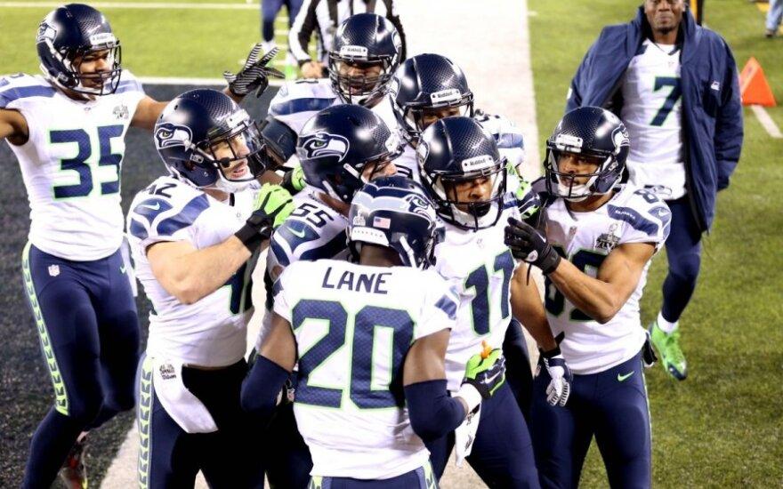 """""""Seattle Seahawks"""" klubas tapo NFL čempionu"""