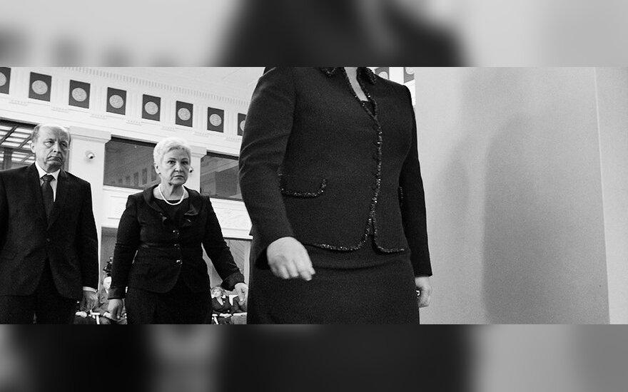 Reitingai: pirma – D.Grybauskaitė, paskutinis – A.Kubilius