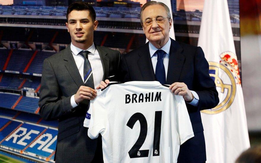 """Madrido """"Real"""" papildė Brahim Diaz"""