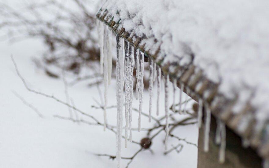 Pavasaris trumpam atsitraukia – grįžta žiemiškas šaltis