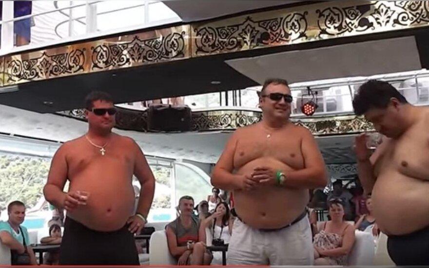 Rusų turistai Turkijoje