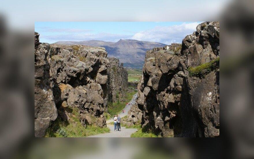 Dovana po atostogų Islandijoje - dukrelė