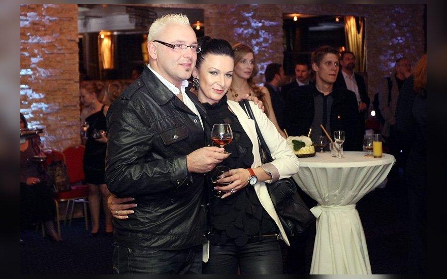 Egmontas Bžeskas ir Reda Kandelienė