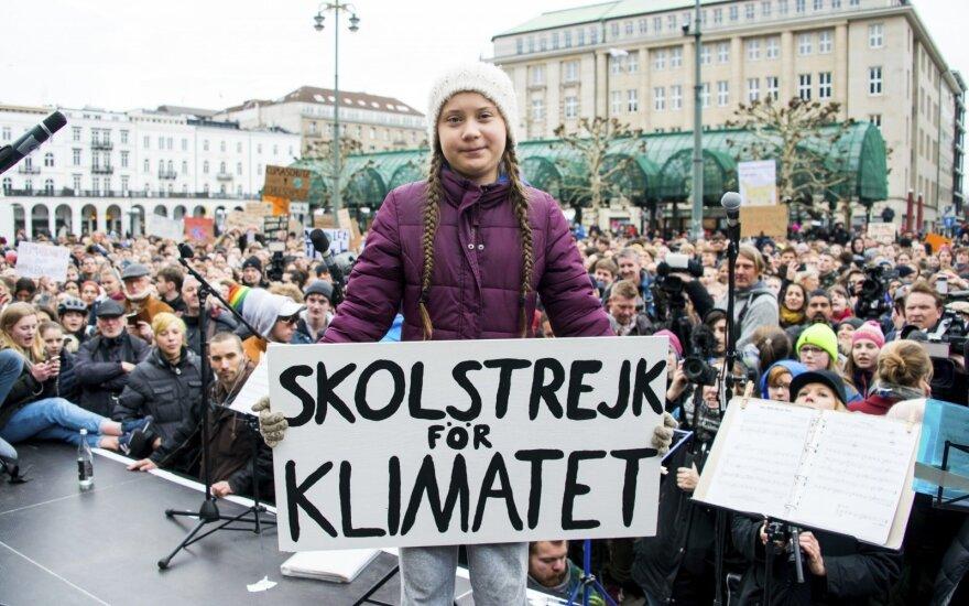 Greta Thunberg ir protestai už klimatą