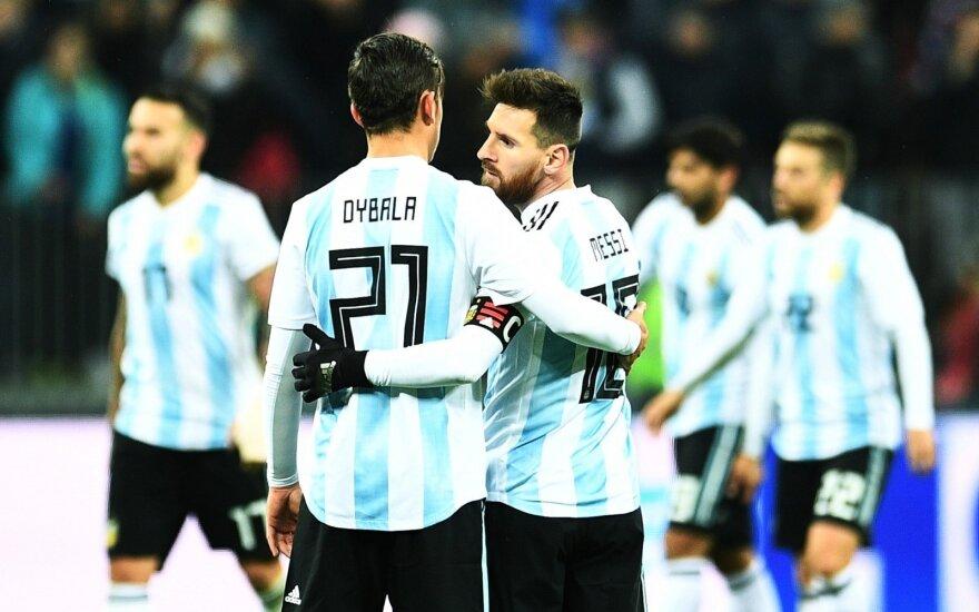 Argentinos rinktinė, Paulo Dybala ir Lionelis Messi