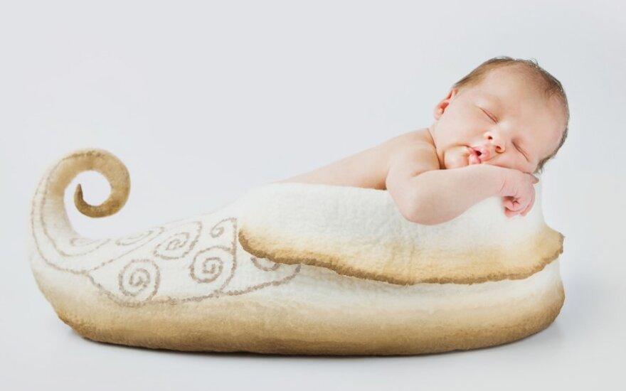 Meniškoje E.Miliūnienės fotografijoje įamžintas kūdikio trapumas