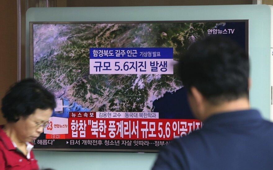 Azijos biržose akcijos pinga po eilinės Šiaurės Korėjos provokacijos
