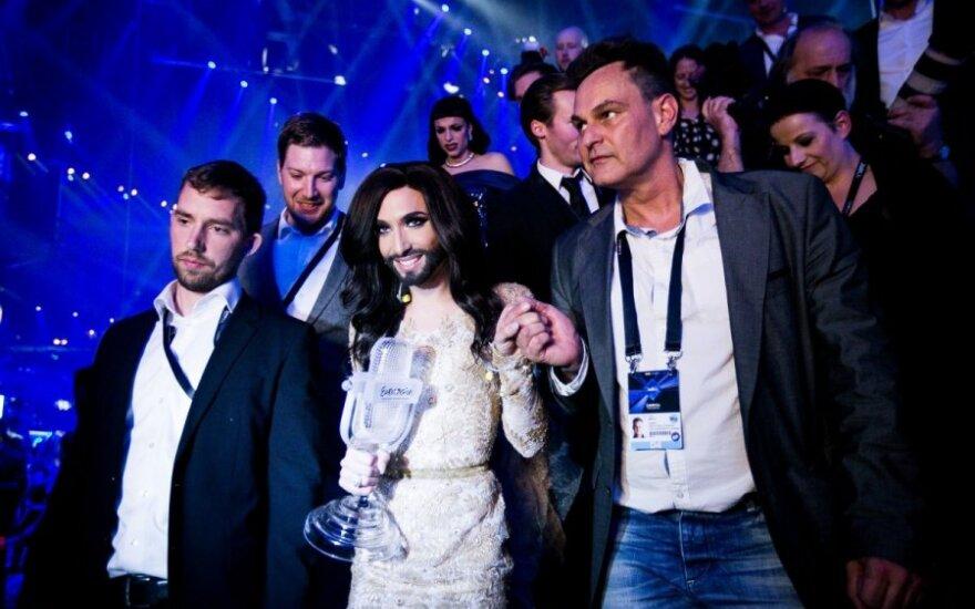 """Kodėl V. Putinas gali džiaugtis dėl Conchitos pergalės """"Eurovizijoje""""?"""