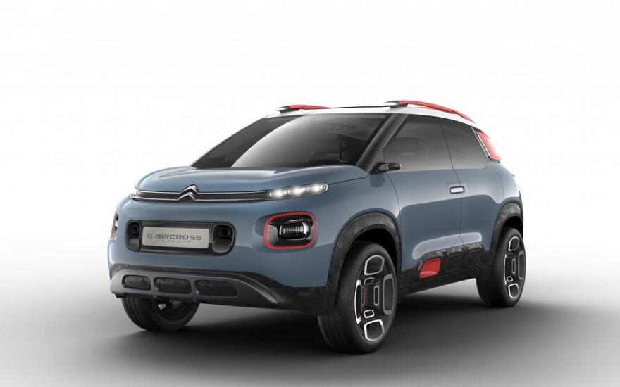 """Citroen C-Aircross Concept"""