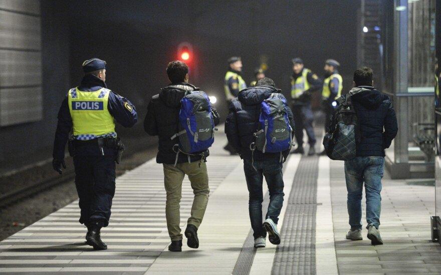 Stokholme prasidėjo šešių terorizmu įtariamų asmenų teismo procesas