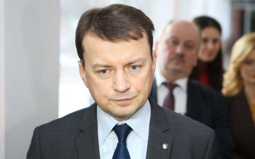 Gynybos ministras: Lenkija siekia, kad šalyje atsirastų JAV nuolatinių karinių bazių