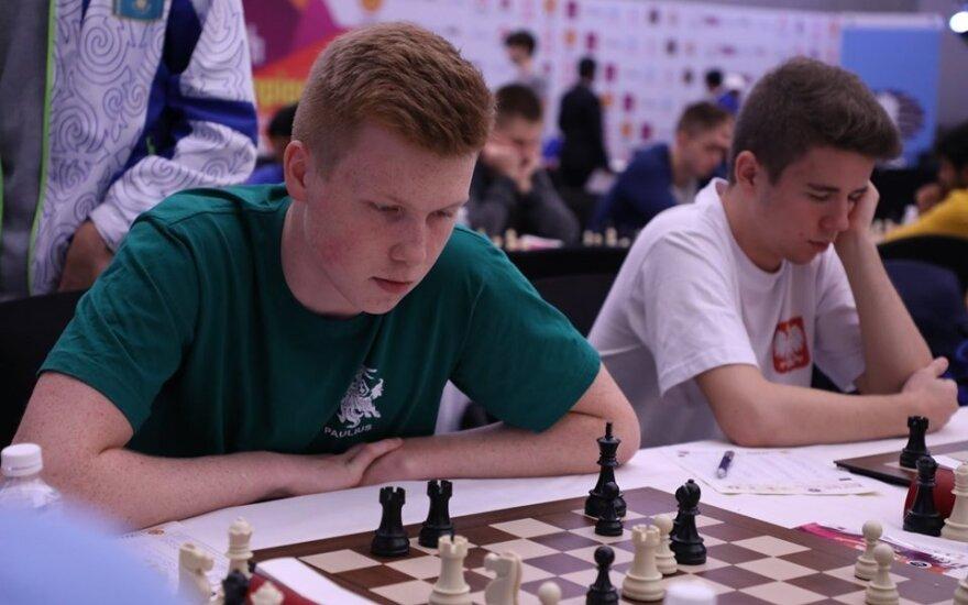 Paulius Pultinevičius / Foto: Lietuvos šachmatų federacija