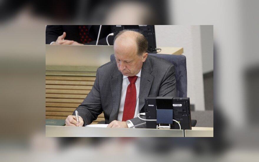"""A.Kubilius ieško vietos """"Vienai Lietuvai"""""""