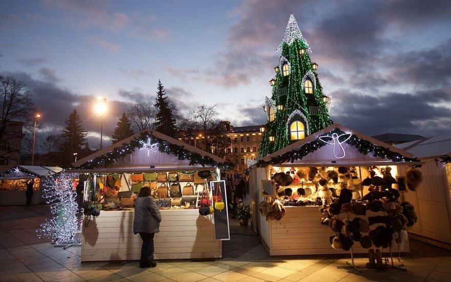 Sostinės Kalėdinis miestelis: kokių pramogų siūlo