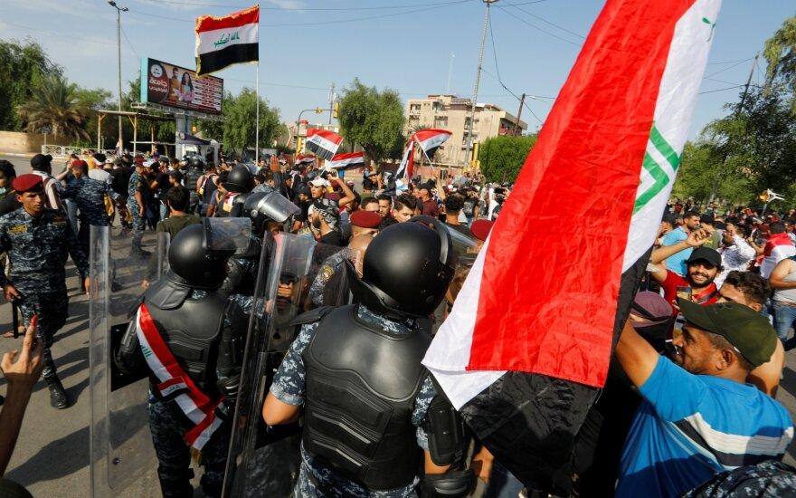 URM ragina Lietuvos piliečius nevykti į Iraką