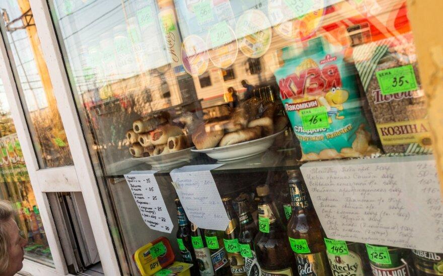 Rusija suskaičiavo, kiek sunaikino nelegalaus alkoholio per 2 metus