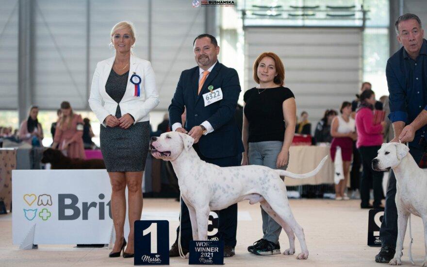 """""""World Dog Show 2021"""" nugalėtojai iš Lietuvos"""