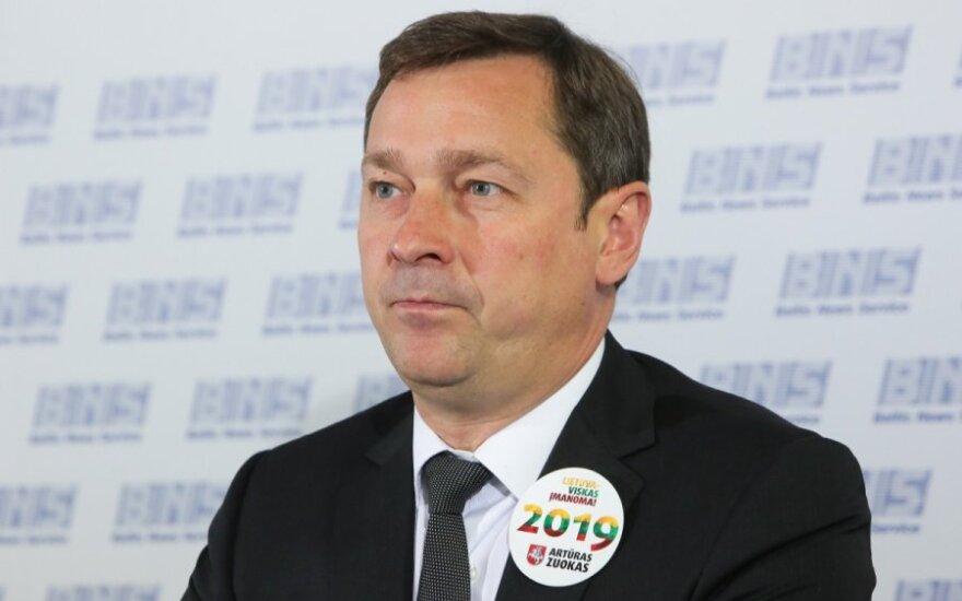 Mayor of Vilnius Artūras Zuokas