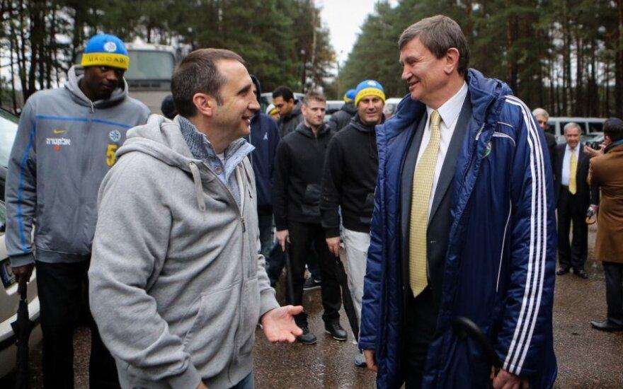 Davidas Blattas ir Sergejus Jovaiša