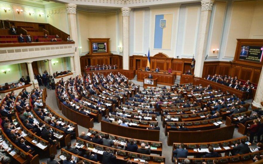 Ukrainos parlamentas patvirtino centrinio banko vadovės atsistatydinimą