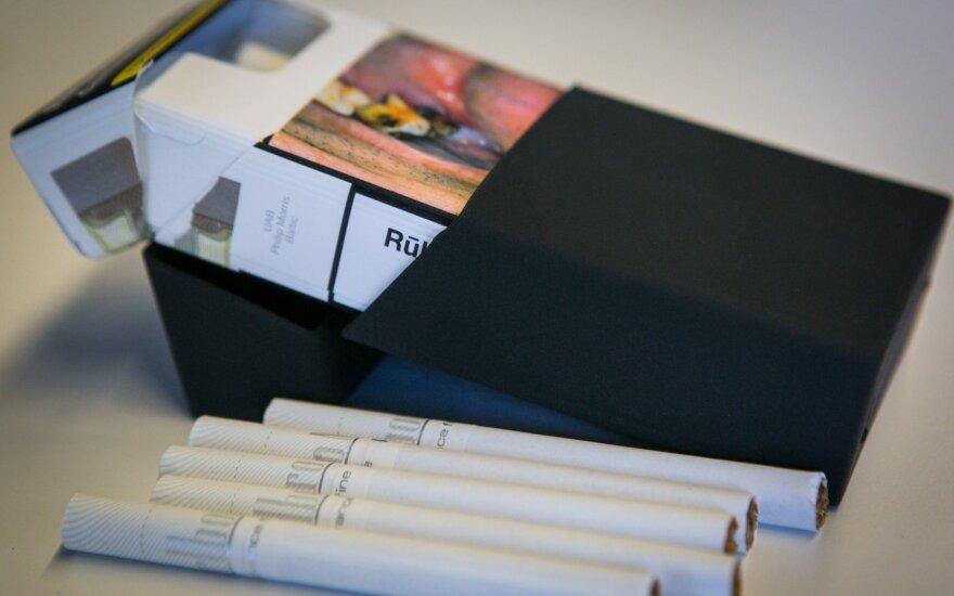 Nori suvienodinti cigarečių pakelius