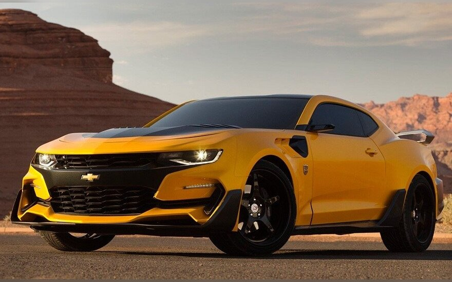 """Naujoji """"Kamanė"""" arba """"Chevrolet Camaro"""""""