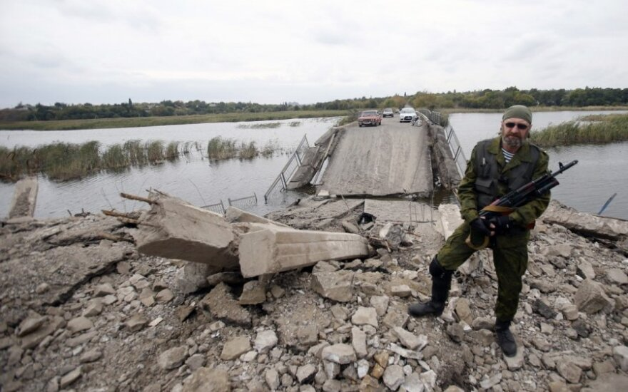 Prorusiškiems separatistams Ukrainoje – griežtas JAV įspėjimas