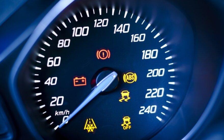 Įspėjimas apie automobilio gedimą