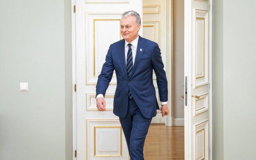 Tvyrant įtampai, Nausėda atvyko į Briuselį derėtis dėl ES biudžeto