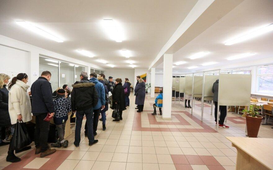 Policija per dieną gavo dar 5 pranešimus apie rinkimų pažeidimus, surašė vieną protokolą