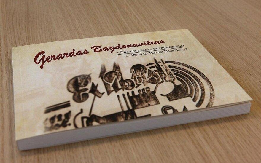 Pristatyta nauja knyga apie menininką Gerardą Bagdonavičių ir Šiaulių krašto ekslibrisus