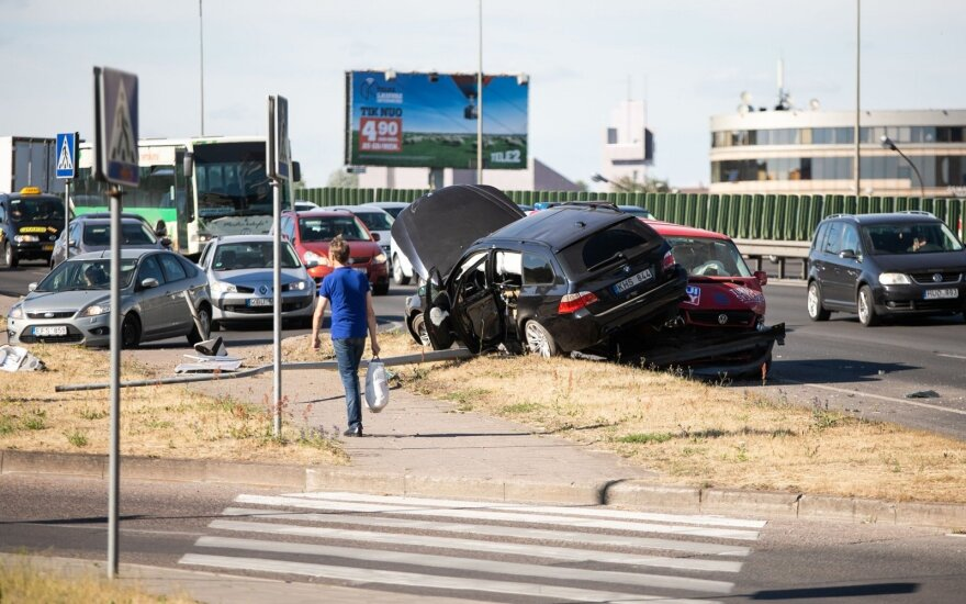 Kaip per eismo įvykį netapti be kaltės kaltu
