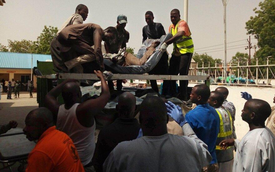 """Žuvusiųjų skaičius Nigerijoje per """"Boko Haram"""" išpuolį išaugo iki 65"""