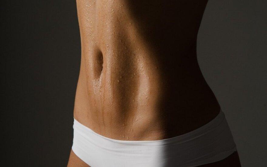 Penki maži pokyčiai plokštesniam pilvui