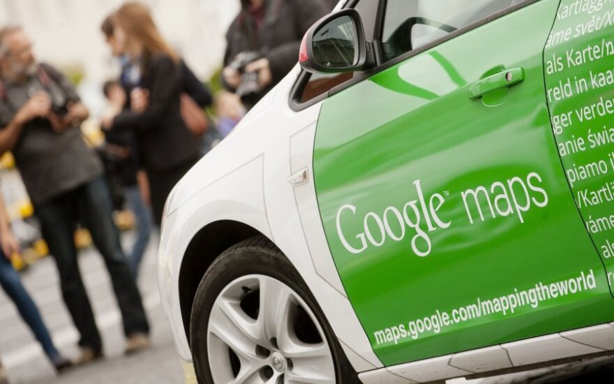 Google Street View cars are hitting Lithuanian roads again