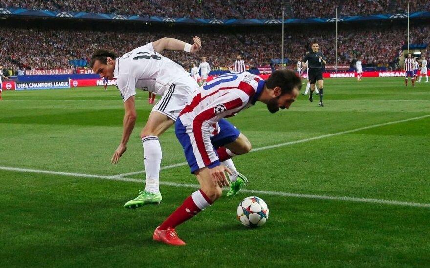 Garethas Bale'as ir Juanfranas