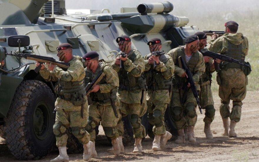 Rusų kariai Kryme