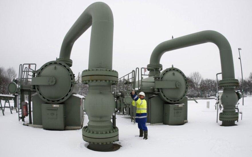 Prispausta šalčių Lietuva paprašė dujų iš Latvijos