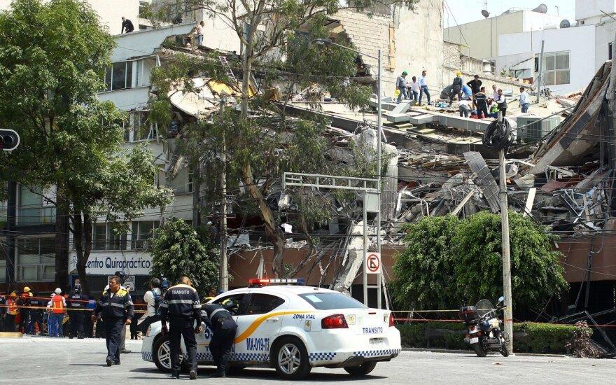Pietų Meksiką sudrebino 6,6 balo stiprumo žemės drebėjimas