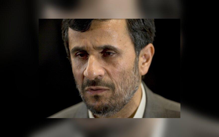 Irano žvalgyba: Izraelis planavo nužudyti M.Ahmadinejadą