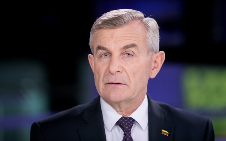 Pranckietis apie vakarykščius įvykius Seime: tai manipuliacijų pasekmė