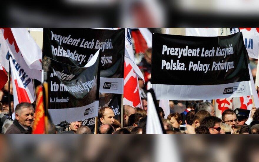 Rusijos atliktą Smolensko katastrofos tyrimą Lenkija apskųs ES