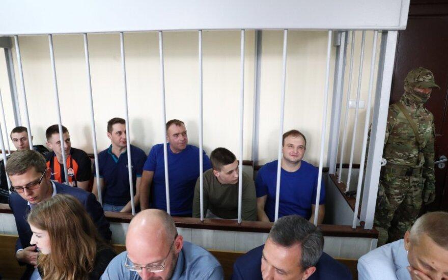 Suimti Ukrainos jūreiviai