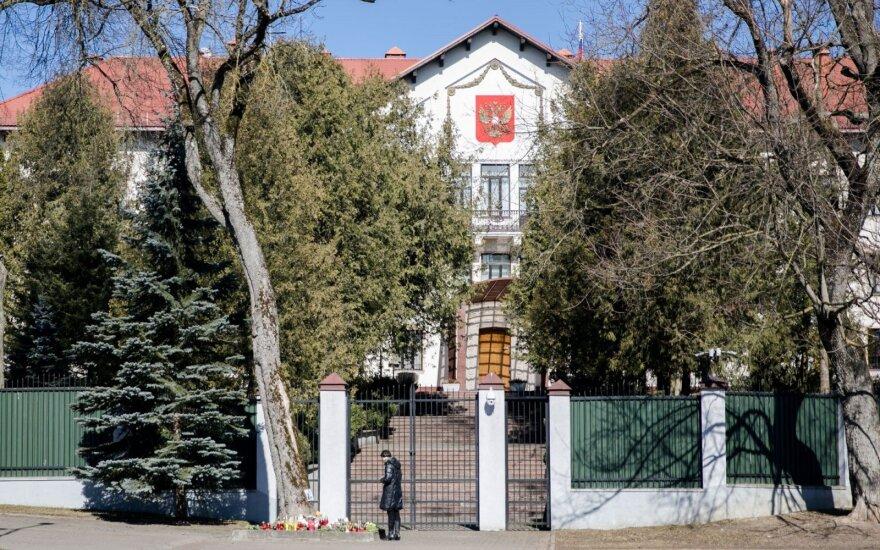 Rusijos ambasada Lietuvai teikia notą dėl karių kapų